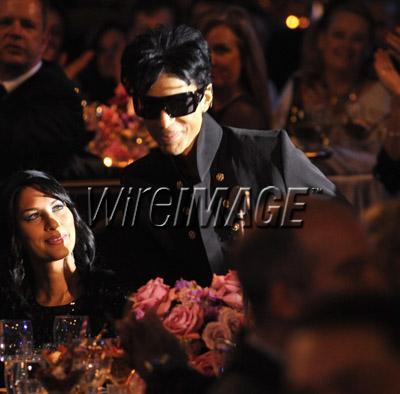 Prince al Pre-Grammys Party di Clive Davis 2009