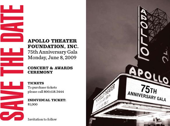 save-the-date Apollo