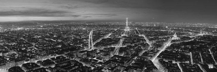 Paris_Night bw