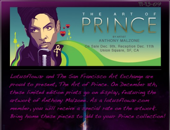 The Art OF pRINCE