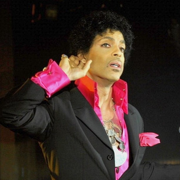Prince at SXSW 2013 - Photo Credit: John Sciulli for Samsung