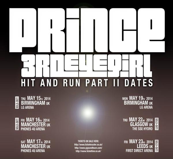 Tour Dates flyer