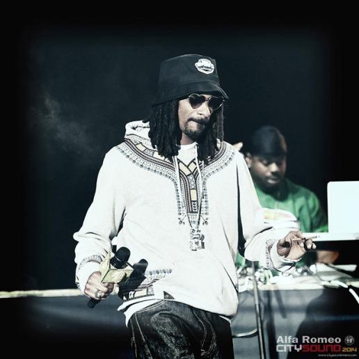 Foto Getty Images - Snoop Dog - Festival City Sound 2014 di Milano