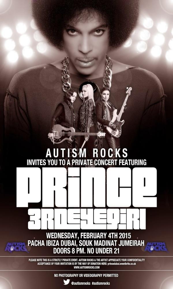 Autism Rocks Dubai Poster