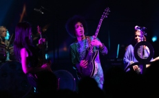 """(Exclusive Coverage) Prince performs onstage during his """"HitnRun"""" tour at Sony Centre For Performing Arts on May 19, 2015 in Toronto, Canada."""