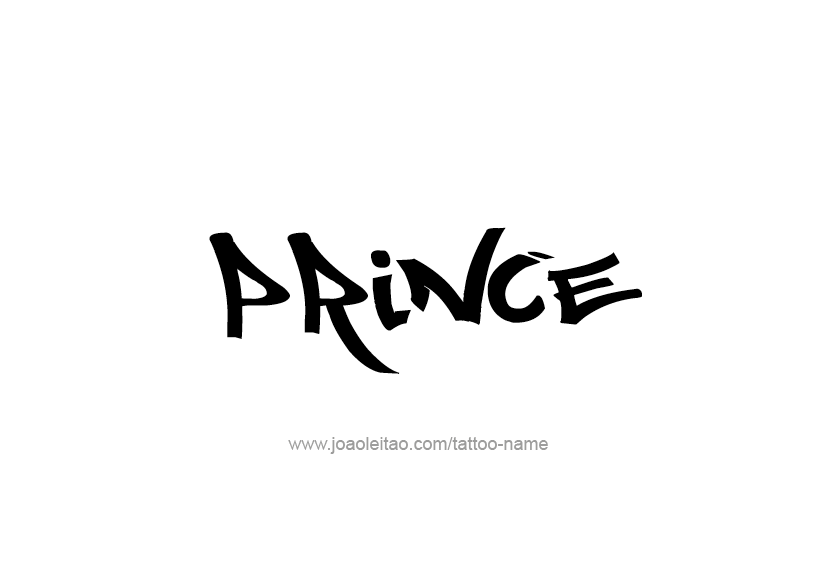 Tattoo Design Name Prince 18