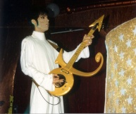 Prince performs at his South Beach club Glam Slam. COURTESY OF MICHAEL CAPPONI